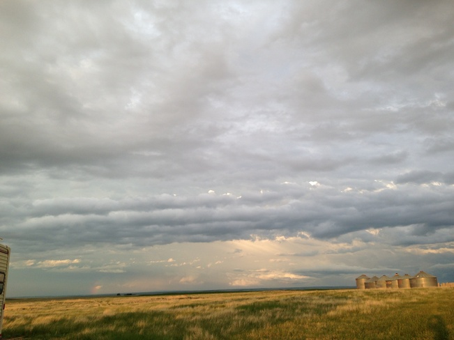 storm rolling in from montana Seven Persons, Alberta Canada
