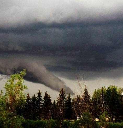 funnel cloud East St. Paul, Manitoba Canada