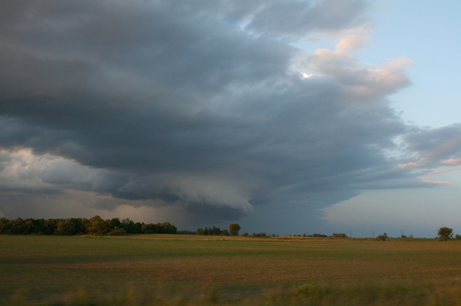 Storm moving towards St. Thomas and Aylmer Shedden, Ontario Canada