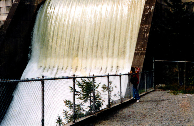The Dam Greater Vancouver, British Columbia Canada