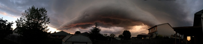 Storm Front Panoramic St. Thomas, Ontario Canada