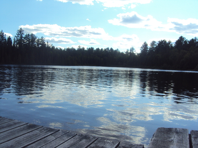 Sittin' on the dock of the bay... Elliot Lake, Ontario Canada