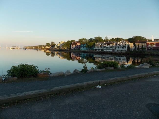 Flat calm ! Mahone Bay, Nova Scotia Canada