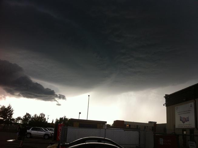 calm before storm Regina, Saskatchewan Canada