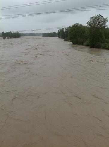 High Rising Water Calgary, Alberta Canada