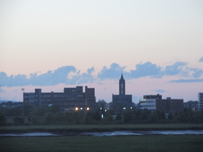 Moncton skyline seen from Riverview side Moncton, New Brunswick Canada