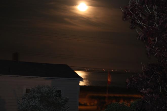 Moonlight Eastern Passage, Nova Scotia Canada