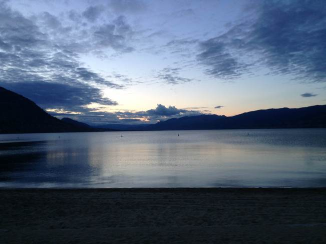 beautiful walk in penticton Penticton, British Columbia Canada