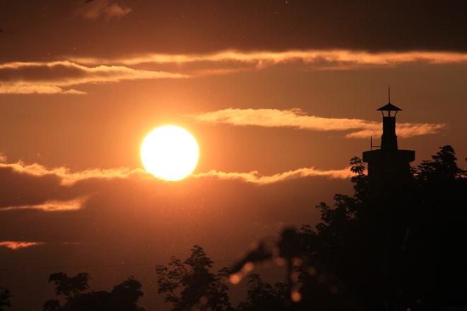 sunset LaSalle, Quebec Canada