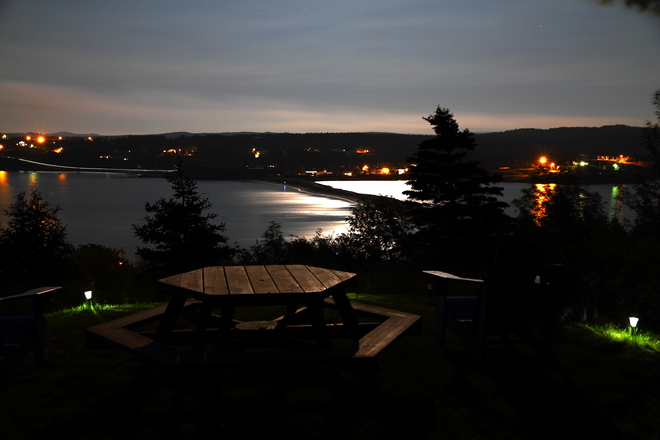 Moonlight on the bay Bay Roberts, Newfoundland and Labrador Canada