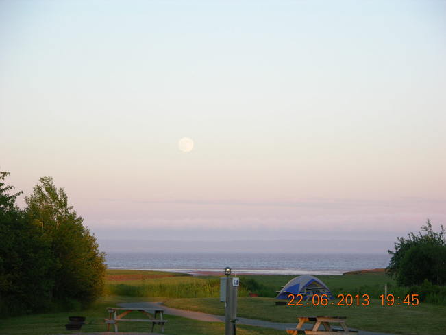 Super Moon making the grand appearance Moncton, New Brunswick Canada