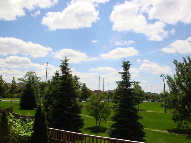 Beautiful Summer Weather Richmond Hill, Ontario Canada