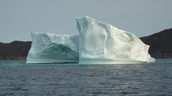 Iceberg in Green Bay NL Nippers Harbour, Newfoundland and Labrador Canada