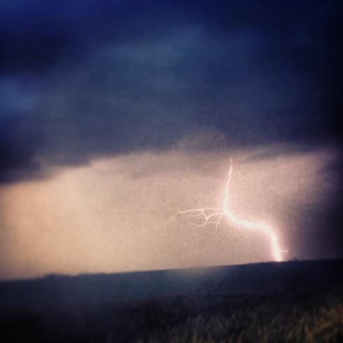 lightning shot Portage La Prairie, Manitoba Canada
