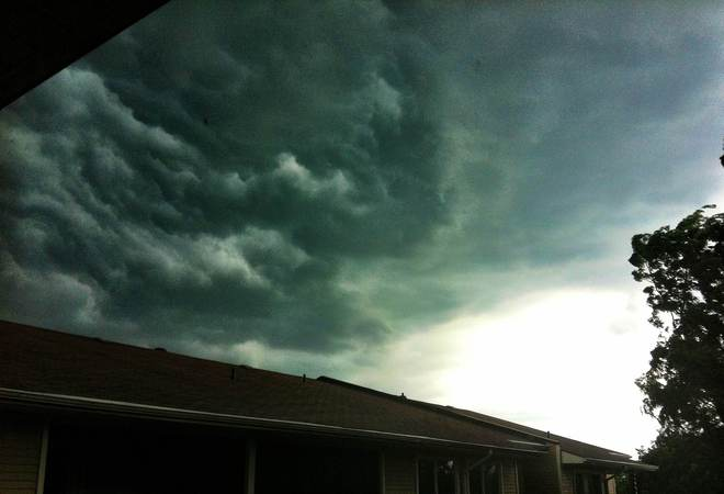 storm approaching orleans Ottawa, Ontario Canada