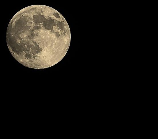 Super moon Orillia, Ontario Canada