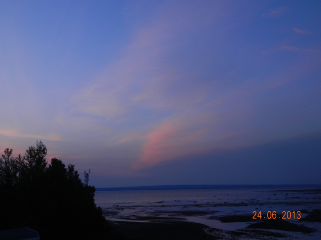 taken in the morn. before sun came up Boyd's Cove, Newfoundland and Labrador Canada