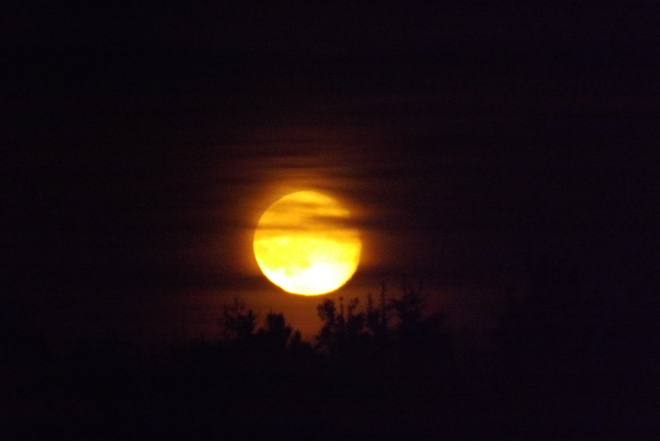 SUPERMOON RISE Thunder Bay, Ontario Canada
