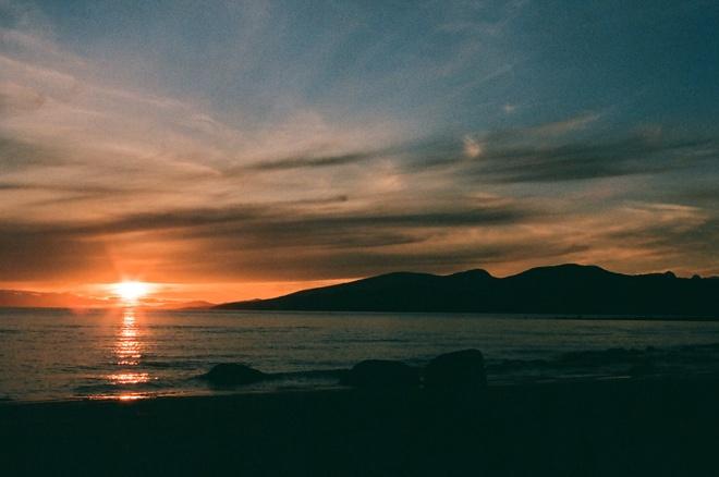 Sundown at wreck Vancouver, British Columbia Canada