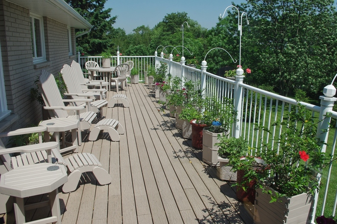 This years deck Colborne, Ontario Canada