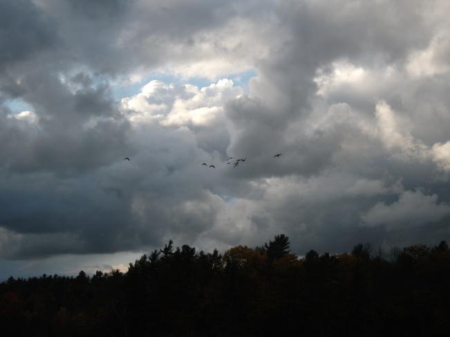 nasty sky Gananoque, Ontario Canada