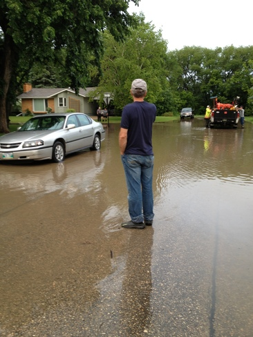 Flooding in Dauphin, MB Dauphin, Manitoba Canada