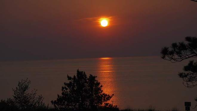 Sunset at the Pinery Grand Bend, Ontario Canada