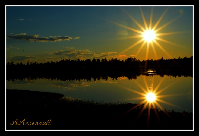 Sunset Richibucto-Village, New Brunswick Canada