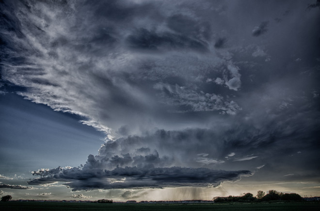 Cell Clouds Winnipeg, Manitoba Canada