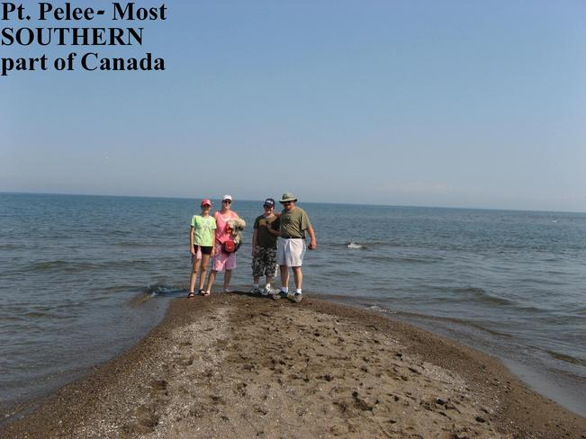 THE MOST SOUTHERN PART OF CANADA Point Pelee, Ontario Canada