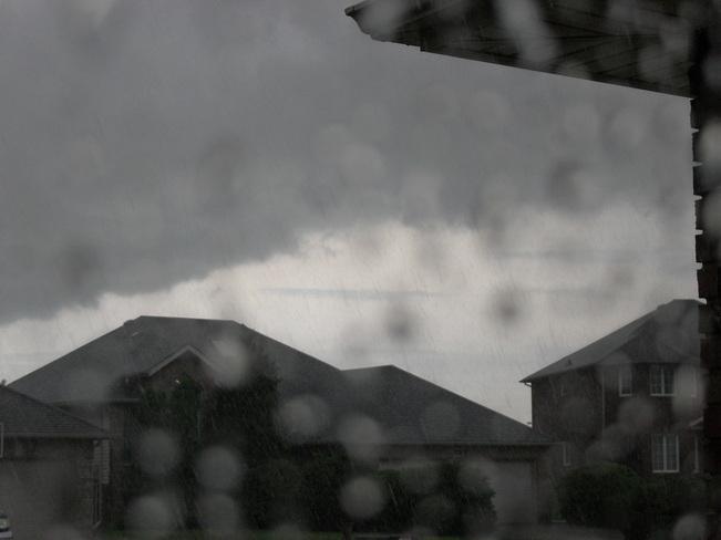 Torrential Rain Tecumseh, Ontario Canada
