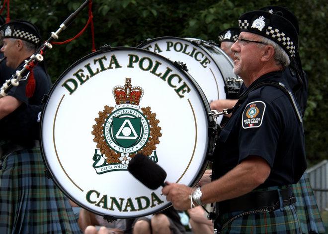 Big Drummer Man Delta, British Columbia Canada