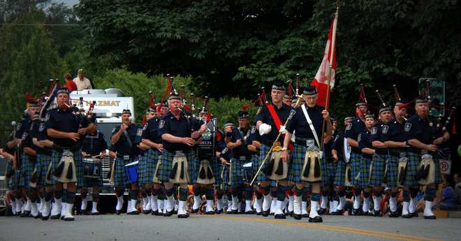 Delta Police Pipe and Drum Band Delta, British Columbia Canada