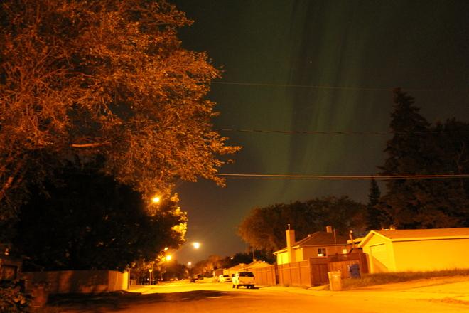 Northern Lights Regina, Saskatchewan Canada