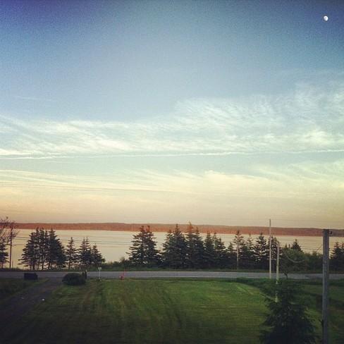 Clouds Port Morien, Nova Scotia Canada