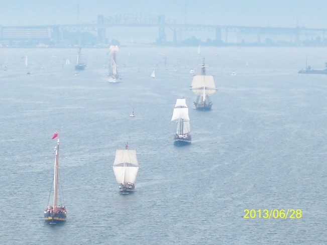 Parade of the Tall Ships Hamilton, Ontario Canada