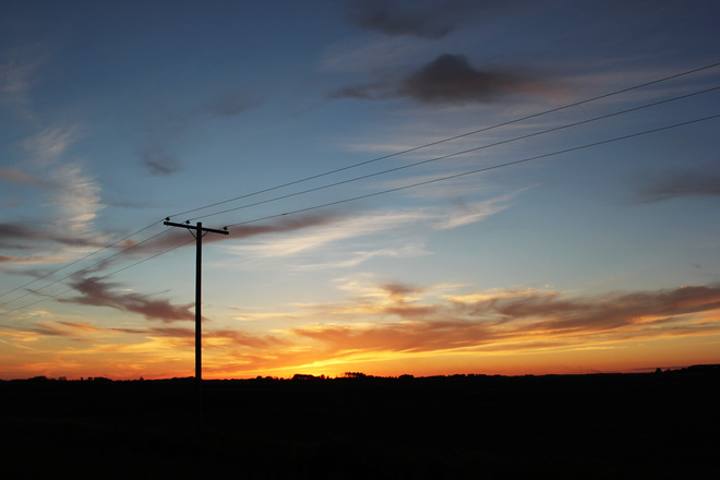Gorgeous Sunset Yorkton, Saskatchewan Canada