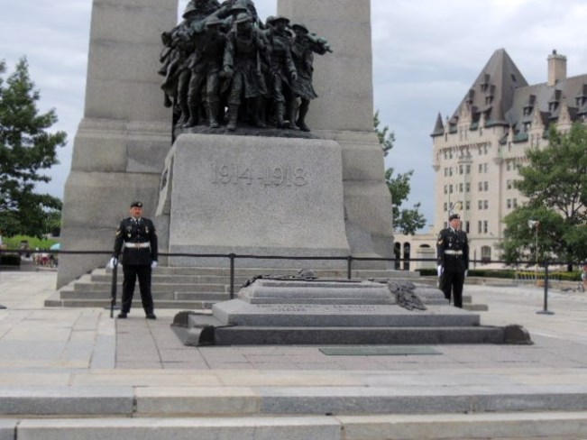 Tomb of the Unknown Soldier Ottawa, Ontario Canada