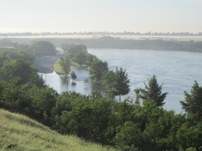 Fog & Flood Saskatoon, Saskatchewan Canada