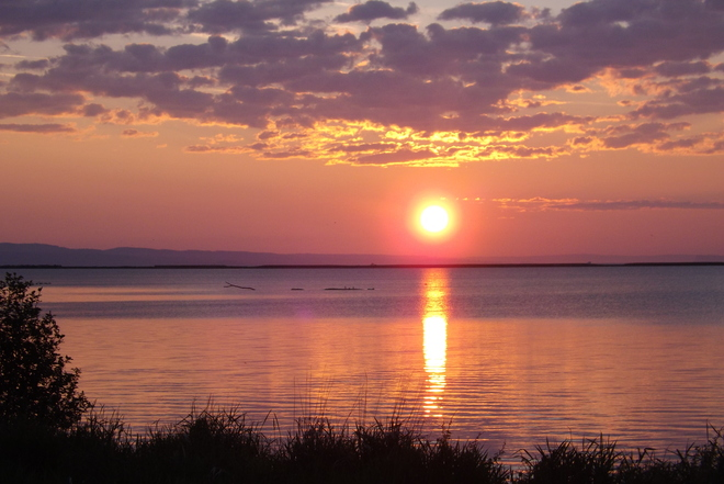 SUNRISE ON LAST DAY OF JUNE Thunder Bay, Ontario Canada