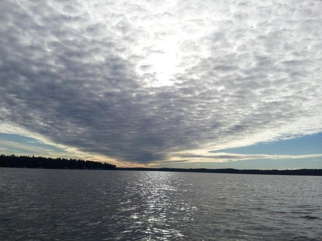 early morning fishing on sturgeon lake ~ through my brother's eyes