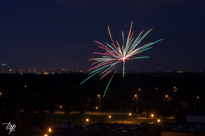 Pre Canada Day Fireworks! London, Ontario Canada