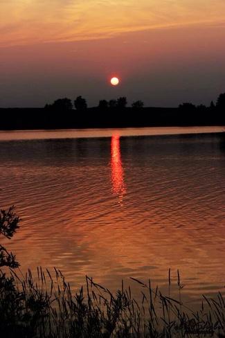Sunset Orangeville, Ontario Canada