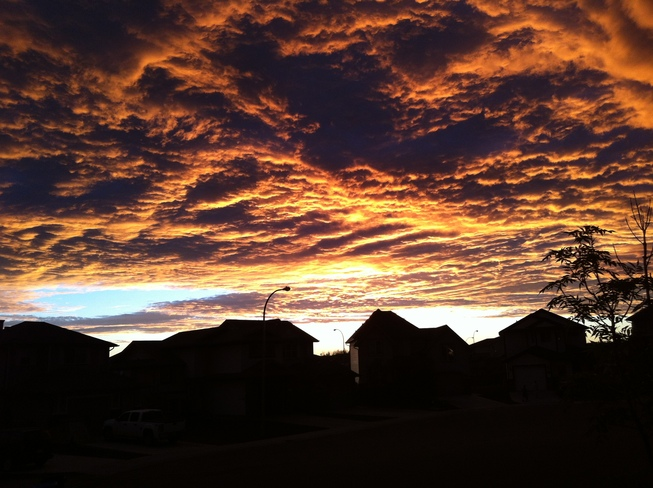 Sunset @ 10 pm Fort McMurray, Alberta Canada