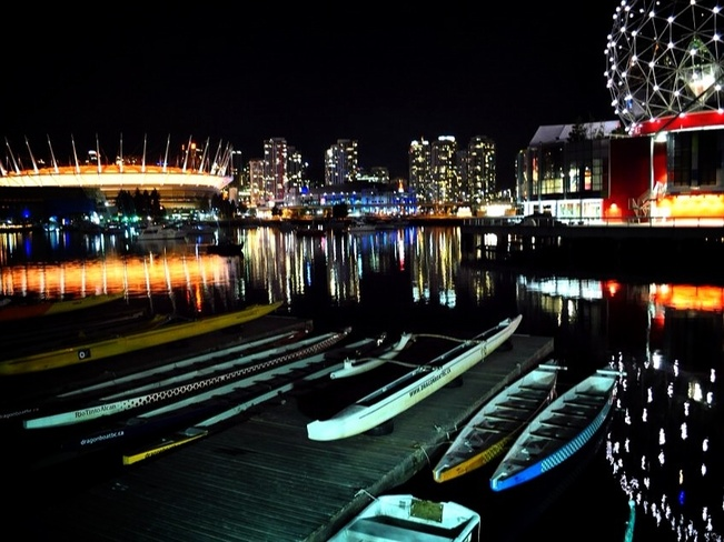 Bright Lights Vancouver, British Columbia Canada