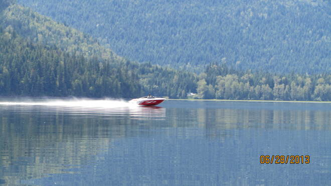 sugar lake boating Cherryville, British Columbia Canada