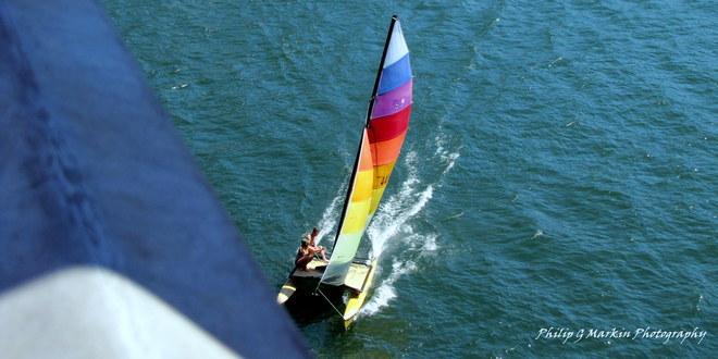 Sailing Nelson, British Columbia Canada