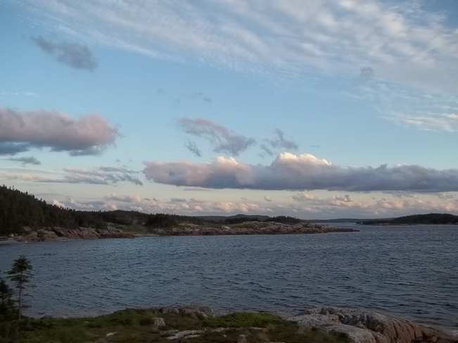 Evening Clouds Birchy Bay, Newfoundland and Labrador Canada