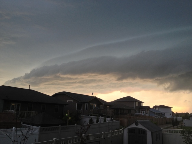 crazy clouds Yorkton, Saskatchewan Canada