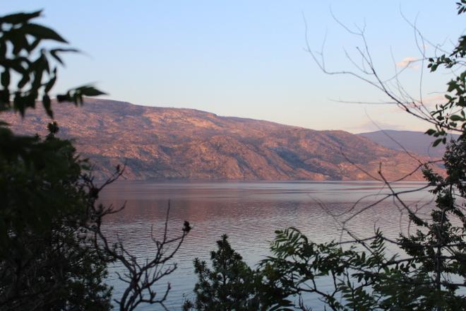 Sunset in Penticton Penticton, British Columbia Canada